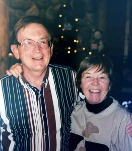 Jim and Gwen Plunkett in 2000.